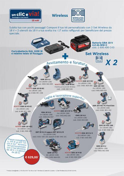 Set wireless Bosch